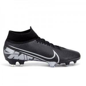 Nike Mercurial Superfly 7 Pro Firm Ground Football Boots - Black