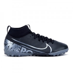 Nike Mercurial Superfly 7 Academy Astroturf Trainers - Black - Kids