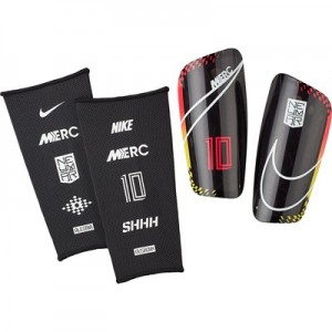 Nike Neymar Mercurial Lite Shinguards - Red