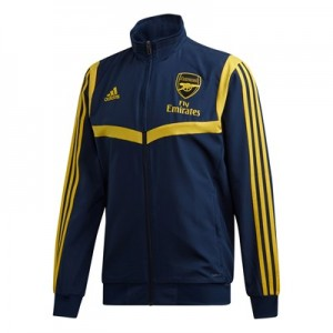 Arsenal UCL Training Presentation Jacket - Navy