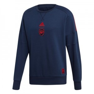 Arsenal Seasonal Crew Sweat – Navy