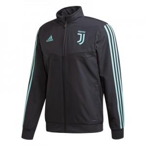 Juventus UCL Training Presentation Jacket – Grey