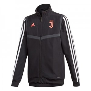 Juventus Pre Match Jacket – Black – Kids