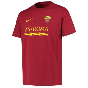 AS Roma Match T-Shirt - Red