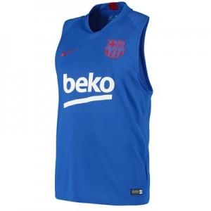 Barcelona Strike Training Top – Blue – Sleeveless