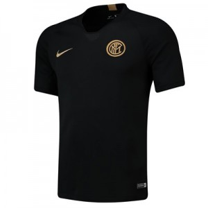 Inter Milan Strike Training Top - Black