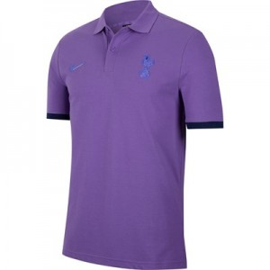 Tottenham Hotspur Pique Crew Polo – Grape