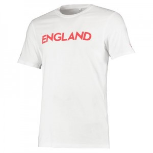 Nations League England Flag T-Shirt - Game Red - Mens