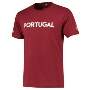 Nations League Portugal Flag T-Shirt - Team Red - Mens