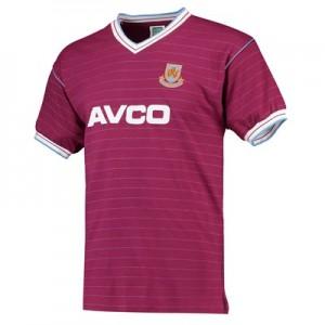 West Ham Utd 1986 Home Shirt
