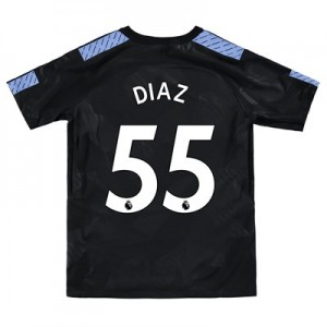 Manchester City Third Stadium Shirt 2017-18 - Kids with Diaz 55 printing