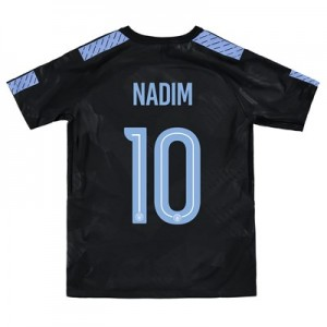 Manchester City Third Stadium Cup Shirt 2017-18 – Kids with Nadim 10 printing