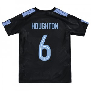 Manchester City Third Stadium Cup Shirt 2017-18 – Kids with Houghton 6 printing
