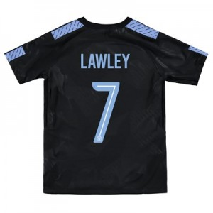 Manchester City Third Stadium Cup Shirt 2017-18 - Kids with Lawley 7 printing