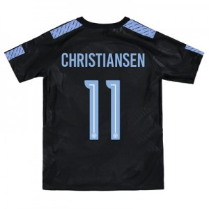 Manchester City Third Stadium Cup Shirt 2017-18 – Kids with Christiansen 11 printing
