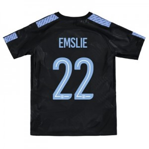Manchester City Third Stadium Cup Shirt 2017-18 - Kids with Emslie 22 printing