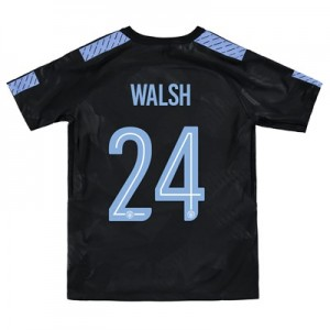 Manchester City Third Stadium Cup Shirt 2017-18 - Kids with Walsh 24 printing