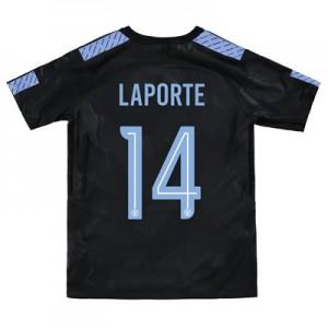 Manchester City Third Stadium Cup Shirt 2017-18 - Kids with Laporte 14 printing