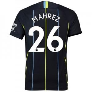 Manchester City Away Stadium Shirt 2018-19 with Mahrez 26 printing