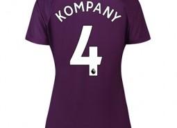 Manchester City Third Stadium Shirt 2018-19 - Womens with Kompany 4 printing