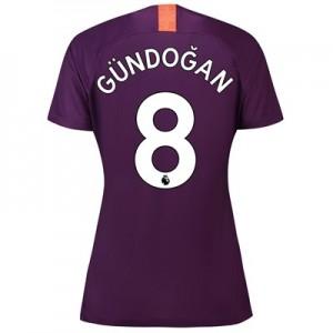 Manchester City Third Stadium Shirt 2018-19 - Womens with Gündogan 8 printing