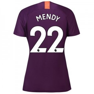 Manchester City Third Stadium Shirt 2018-19 - Womens with Mendy 22 printing