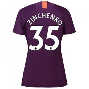 Manchester City Third Stadium Shirt 2018-19 – Womens with Zinchenko 35 printing