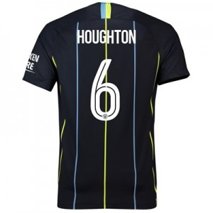 Manchester City Away Cup Stadium Shirt 2018-19 with Houghton 6 printing