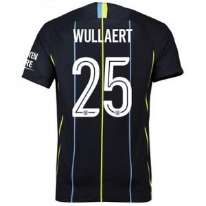 Manchester City Away Cup Stadium Shirt 2018-19 with Wullaert 25 printing