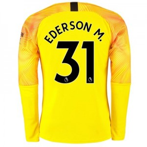 Manchester City Third Goalkeeper Shirt 2019-20 with Ederson M. 31 printing