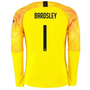 Manchester City Cup Third Goalkeeper Shirt 2019-20 with Bardsley 1 printing