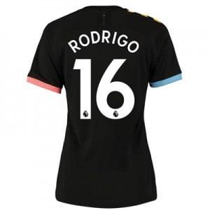 Manchester City Authentic Away Shirt 2019-20 – Womens with Rodrigo 16 printing