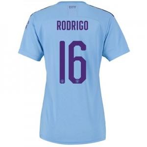 Manchester City Cup Home Shirt 2019-20 – Womens with Rodrigo 16 printing