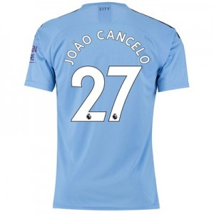 Manchester City Authentic Home Shirt 2019-20 with João Cancelo 27 printing