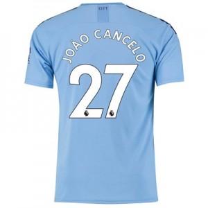 Manchester City Home Shirt 2019-20 with João Cancelo 27 printing