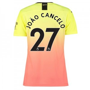 Manchester City Authentic Third Shirt 2019-20 - Womens with João Cancelo 27 printing