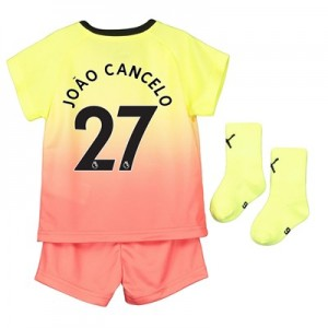 Manchester City Third Baby Kit 2019-20 with João Cancelo 27 printing