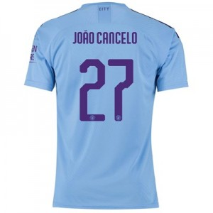 Manchester City Authentic Cup Home Shirt 2019-20 with João Cancelo 27 printing
