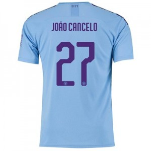Manchester City Cup Home Shirt 2019-20 with João Cancelo 27 printing