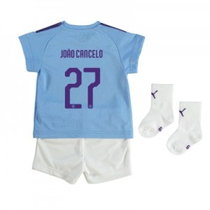 Manchester City Cup Home Baby Kit 2019-20 with João Cancelo 27 printing