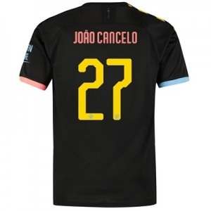 Manchester City Cup Away Shirt 2019-20 with João Cancelo 27 printing