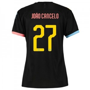 Manchester City Cup Away Shirt 2019-20 – Womens with João Cancelo 27 printing