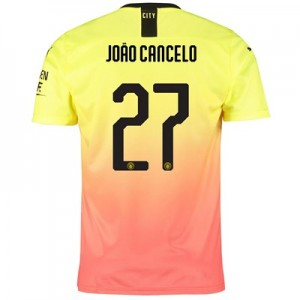 Manchester City Cup Third Shirt 2019-20 with João Cancelo 27 printing