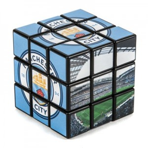 Manchester City Rubiks Cube