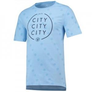 Manchester City Squad T-Shirt – Lt Blue