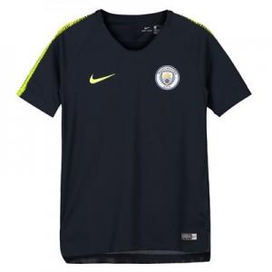 Manchester City Squad Training Top - Dark Blue - Kids