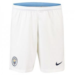 Manchester City Home Stadium Shorts 2018-19 - Kids