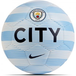 Manchester City Prestige Football - Light Blue - Size 5