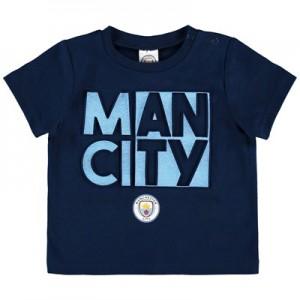 Manchester City Baby Split Man City T Shirt – Navy – Boys