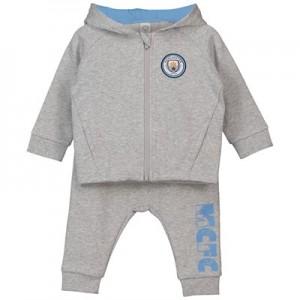 Manchester City Baby Jogsuit – Grey Marl -Boy